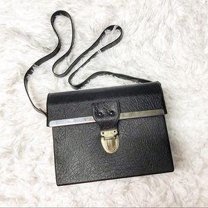 Vintage black boxy small bag